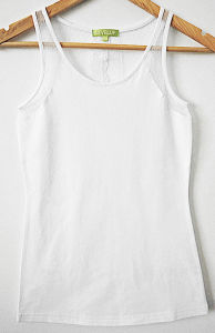Fashion Apparel Underwear Cotton Lace Sleeveless Women Vest Tank Top pictures & photos