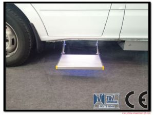 Electric Sliding Ladder for Van and Caravan CE Certificate Loading 200kg pictures & photos