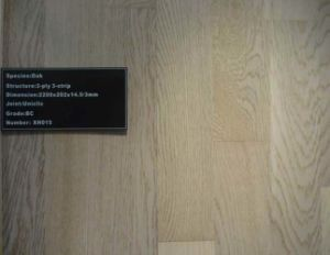 Popular Oak Engineered Parquet Wood Flooring pictures & photos