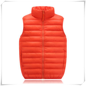 Winter Jacket 100% Polyester with Vest Down Jacket 604 pictures & photos