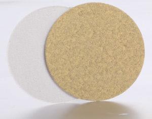Velcro (psa) Disc -Yellow Aluminium Oxide (WD-VD-A003)