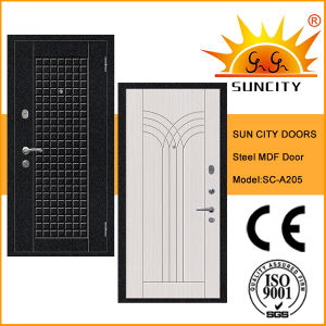 Anti-Theft Steel Doors with Turkish Locksets (SC-A205) pictures & photos