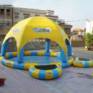 High Quality Inflatable Pool with Tent (CYPL-607) pictures & photos