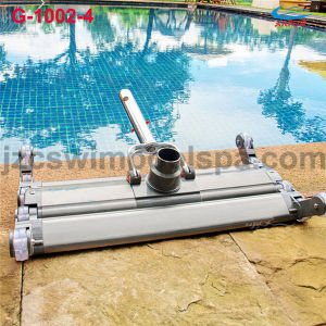 "14"" Aluminum Swimming Pool Vacuum Head with Brush"