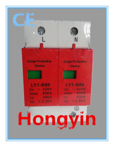 420V 40ka 1p+N AC Power Surge Protection Device SPD pictures & photos