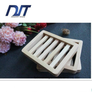 Wholesale Handmade Wash Dish Bathroom Wood Soap Box pictures & photos