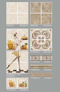 China Wholesale Glazed Porcelain Wall Tile