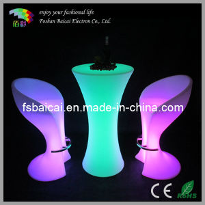 LED Furniture/LED Bar Table/LED Plastic Table