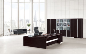 on Sale Modern Office Desk Wooden Desk pictures & photos