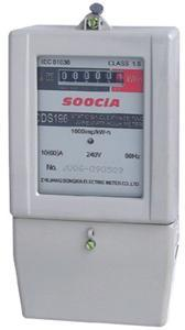 Single-Phase Electronic Watt-Hour Electric Energy Meter