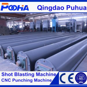 Roller Conveyor Cleaning Equipment Shot Blasting Machine for H Beam pictures & photos