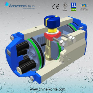 Spring Return Pneumatic Actuator with Good Quality pictures & photos