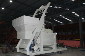 Small Footprint Hzs75 Concrete Mixing Station pictures & photos