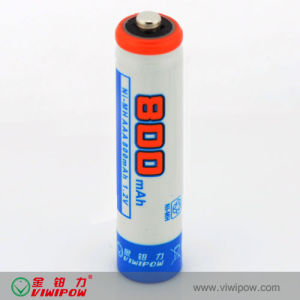 Low Self-Discharge Ni-MH AAA 800mAh Rechargeable Battery (VIP-AAA-800)