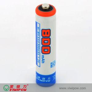 Low Self-Discharge Ni-MH AAA 800mAh Rechargeable Battery (VIP-AAA-800)
