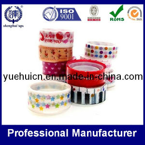 Popular BOPP Printing Stationery Tape pictures & photos