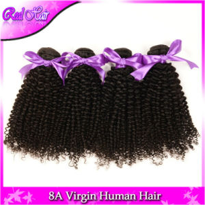 """Unprocessed 7A Aliexpress Hair 4PCS Mongolian Afro Curly Human Hair Weaves Tight Virgin Kinky Curl Extensions 8""""-32"""" Natural Color pictures & photos"""