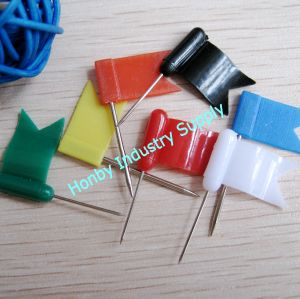 Decorative Dainty Design Color Flag Map Marking Pin