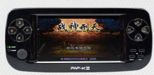 Top Quality 4.3 Inch Portable Game Console with 3D Games Support Sega/Neogeo Games Pap-Kiii
