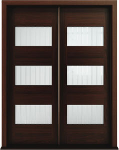 Contemporary Style Solid Wooden Glass Door pictures & photos