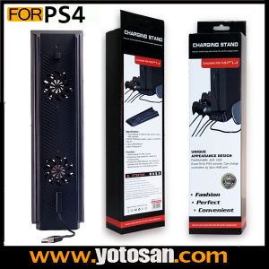 Vertical Cooling Fan with 3 USB Ports for PS4 Console pictures & photos