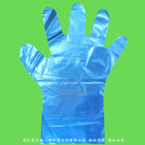 Disposable Stretchable TPE Gloves pictures & photos