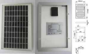 9V 18V 5W Monocrystalline Solar System Lighting Panel PV Module with Ce Approved pictures & photos