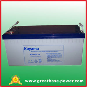 High Capacity VRLA Battery Storage Battery 200ah 12V pictures & photos