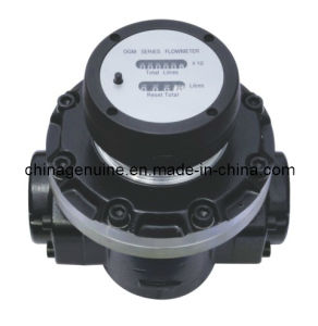 Zcheng Mechanical Display Oval Gear Meter for Oil, Fuel, Diesel Zcogm-a pictures & photos