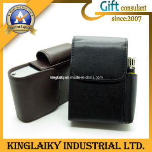New Free Sample Leather Cigarette Case for Promotional Gift (KCB-001) pictures & photos