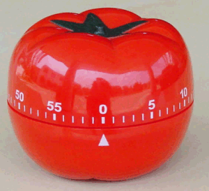 Tomato Shape Mechanic Timer Plastic Material pictures & photos
