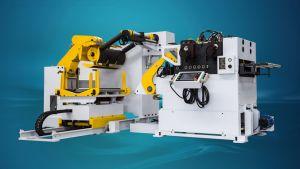 3 in 1 N. C. Level Servo Uncoiler Straightener Feeder Machine (NLF4) pictures & photos