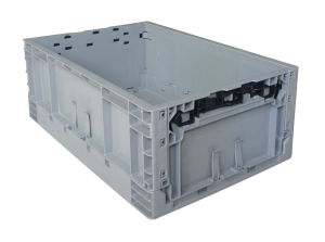 Neway Folding Plastic Storage Box Turnover Crate Box pictures & photos