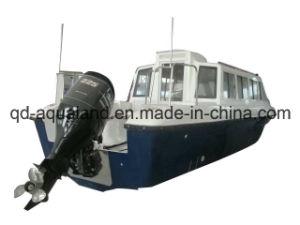 Aqualand 28feet 8.6m Fiberglass Cabin Passenger Boat/Ferry Motor Boat (860) pictures & photos