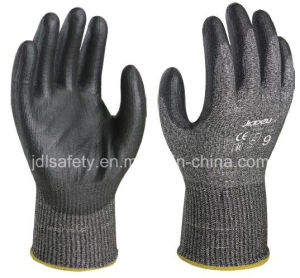 ANSI Cut 4 Work Glove with PU Dipping (ND8098) pictures & photos