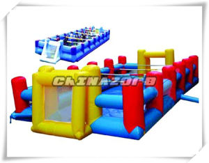 Interesting Outdoor Games Inflatable Playground Bubble Soccer Field