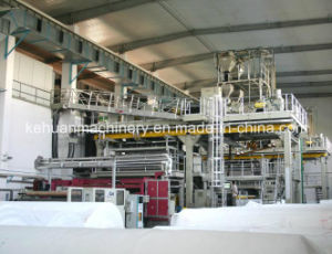 2.4m Single Beam PP Spun Bond Non Woven Fabric Machine pictures & photos