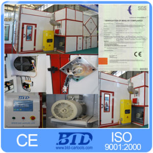 Booth Used Equipment in Baking Car Bake Cabin Painting Machine for Car pictures & photos