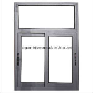 Alulminium Sliding Window with Single Lock pictures & photos