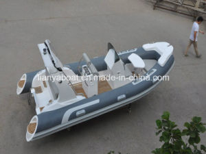 Liya 5.2m Inflatable Fiberglass Boat Luxury Yacht for Sale pictures & photos