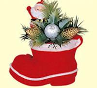 Plastic Christmas Ornament (E1110-5)