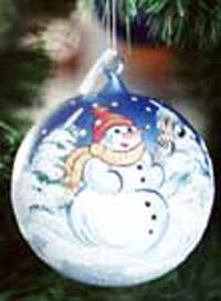 Glass Christmas Ball (B04)