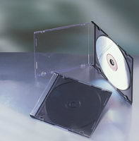 5.2mm PS Jewel Single CD Case With Black Tray (MC-B152)