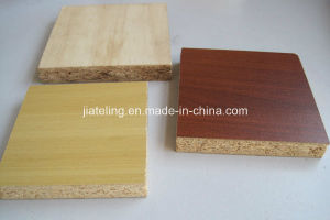 Wood Grain Color Melamined Particle Board pictures & photos