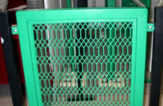 Movable Powder Coated Wire Mesh Fence