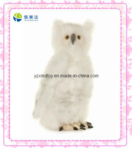 Beautiful Snow-White Owl Stuffed Animals Toy pictures & photos