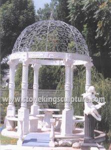Marble Gazebo, Stone Gazebo, Stone Garden Gazebo(SK-2200) pictures & photos