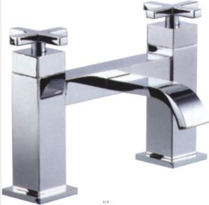 Two Handle Bath Mixer for UK Market pictures & photos