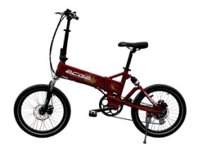 2014 High Quality Lithium Bicycle Light Folding E-Bicycle with LCD Display and Derailleur