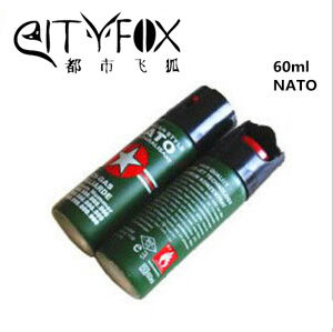 Moderate Price 60ml Self-Defence Nato Tear Gas pictures & photos
